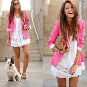 ZARA Bloggers Favorite Pink Blazer
